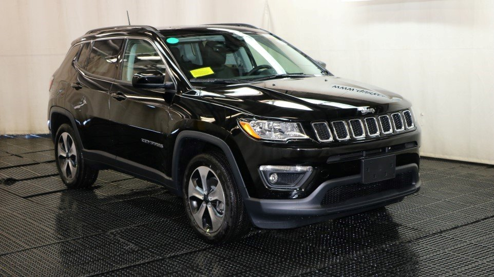 New 2018 Jeep Compass Latitude Sport Utility in Boston # ...