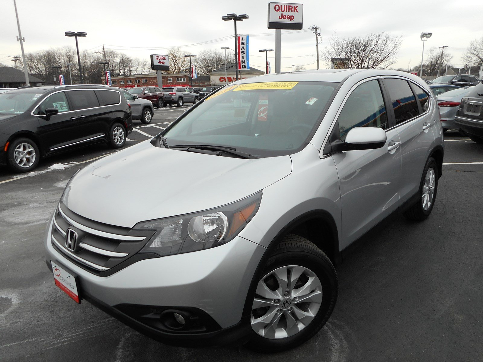 Certified pre owned 2014 honda cr v ex sport utility in for Honda used certified